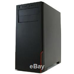 I'Gaming PC Desktop Computer Quad Core i5 Radeon 7570 8GB RAM 240GB SSD 500GB HD