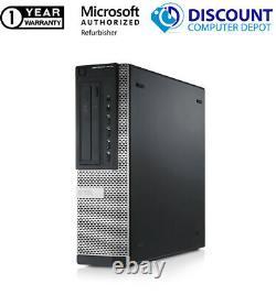 Intel Core i7 Desktop SSD 256GB 8GB RAM 3.3GHz DVD Windows 10 Home Computer WIFI