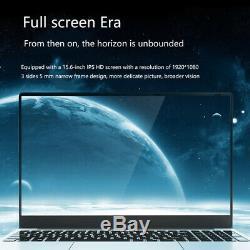 Intel core i7 Laptop Max Support 16GB 512GB 1TB Metal FHD Computer 15.6 notebook