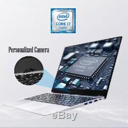 Intel i7 Laptop Max Support 16GB 512GB 1TB Metal 1080P Win10 Gaming PC Computer