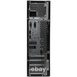 LENOVO Desktop PC Computer Dual Core 8GB RAM DUAL 20 LCDs WiFi Windows 10 Pro