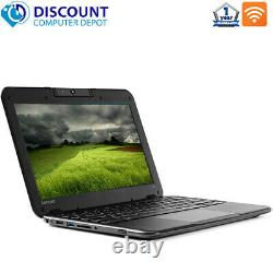 Lenovo Laptop N22 11.6 Computer Intel 4GB Ram 60GB SSD Webcam WIFI Windows 10
