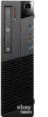 Lenovo M93p INTEL CORE i5-4570 CPU 3.60GHz -500GB -8GB RAM- COMPUTER DESKTOP PC