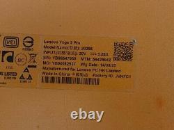 Lenovo Yoga Pro 2 20266 i7-4510U 2GHz 8GB RAM 256GB SSD 13.3 Touch Backlit READ