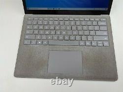 Microsoft Surface Laptop 2 1769 i5-8250U 8GB RAM 128GB SSD 13.5 BAD KEYBOARD