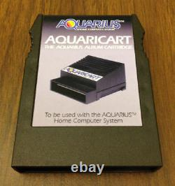 NEW Aquaricart and 32K RAM Combo Pack for Mattel Aquarius Home Computers