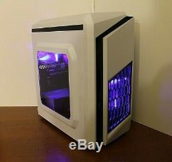 NEW Gaming PC Desktop Computer Quad Core 4.2 GHz 500GB 8GB RAM WIN 10 WIFI
