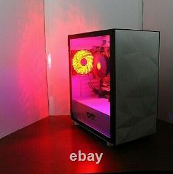 NEW Quad Core Gaming PC Desktop Computer QUAD CORE 4.0 GHz 500GB 16GB RAM WIFI