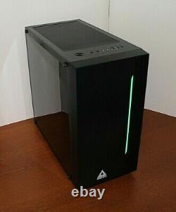 NEW RGB Quad Core Gaming PC Desktop Computer 4.2 GHz 500 8GB RAM WIN 10 WIFI
