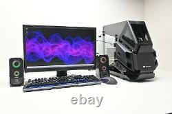 Open Frame Gaming PC Computer Set i5 i7 6GB GTX 1660 Super 16GB Ram 960 SSD Wifi