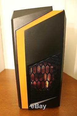 Orange Gaming PC Desktop Computer Quad Core 3.7 GHz 120GB 8GB RAM WIN 10 WIFI
