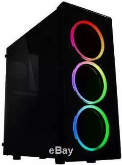 RGB Intel Core i7 Gaming PC GTX 1060 16GB RAM 240GB SSD+ 2TB Desktop Computer