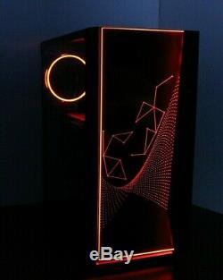RGB MULTI COLOR Gaming PC Desktop Computer 3.7GHz 500 8GB RAM AMD Ryzen 3 2200G