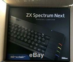Sinclair ZX Spectrum NEXT computer boxed ACCELERATED Version + 2MB RAM