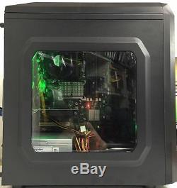 Super Fast Gaming Computer Pc Intel Core 2 Quad Q6600 4gb Ram 500gb Windows 10