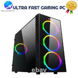ULTRA FAST Gaming PC Computer Intel Quad Core i5 8GB RAM 1TB Win10 2GB GT710