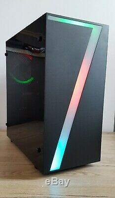 Ultra Fast Intel Quad Core Gaming Pc 8gb Ram 120gb Ssd 500gb Computer Tower Wifi