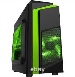 WINDOWS 10 GAMING COMPUTER PC INTEL CORE 2 DUO @ 3.00GHz 8GB RAM 500GB HDD GT710