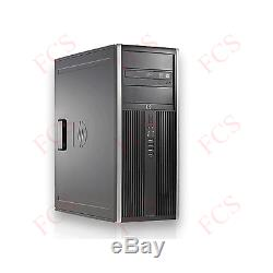 Windows 10 Dell/HP Core 2 Duo 2 x 3.00GHz Tower PC Computer 8GB RAM -500GB HDD