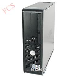 Windows 7 Full Dell Computer Desktop, Tower Pc 4gb Ram 160gb Hdd Wifi