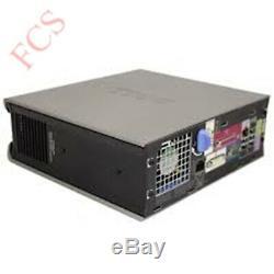 Windows 7 Full Dell/hp Computer Desktop Pc 4gb Ram 160gb-320gb Hdd